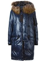 Sacai Luck Oversized Padded Coat Navy £1,485.00