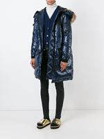 Sacai Luck Oversized Padded Coat Navy Was: £1,485.00 Now: £1,188.00