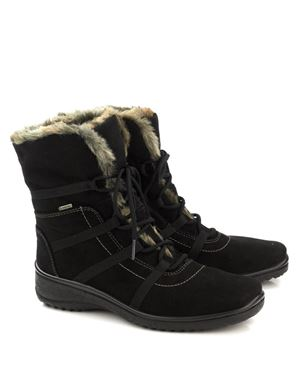 Ara Lapin Gore Tex faux fur lined boot Black Was: £145.00 Now: £72.50