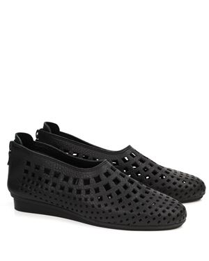 Arche Arche Nirik leather perforated shoe Black Was: £170.00 Now: £110.00