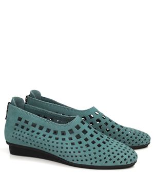 Arche Arche Nirik nubuck perforated shoe Celadon Was: £170.00 Now: £110.00