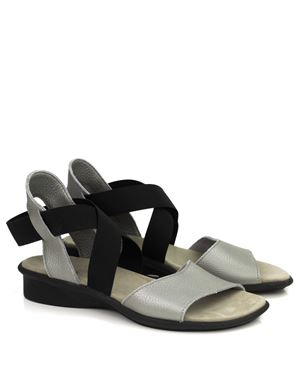 Arche Arche Satia leather sandals Zinc Was: £145.00 Now: £94.00