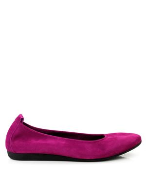 Arche Laius classic nubuck pump with natural latex rubber sole Orchide Was: £139.00 Now: £59.00