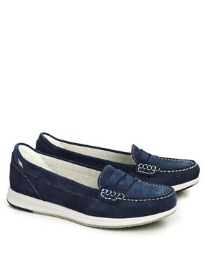 Geox Geox Avery D62H5C Moccasins Denim Was: £90.00 Now: £45.00