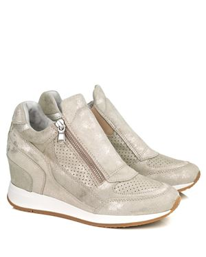 Geox Geox Nydame 620QA wedge trainers Biege Was: £125.00 Now: £62.50