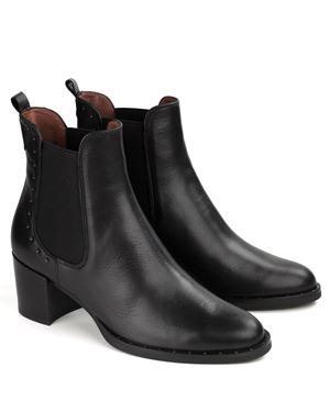 Hispanitas Dakota Gusset Ankle Boot Black Was: £149.99 Now: £112.50