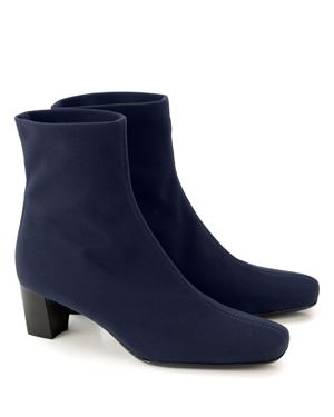 Mascaro Stretch ankle boot 36 942 Navy Was: £169.00 Now: £125.00