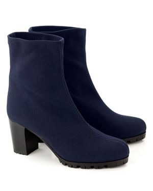 Mascaro Stretch ankle boot 39 079 Navy £175.00