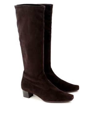 Peter Kaiser Aila stretch suede knee high boot Nuba Was: £220.00 Now: £185.00