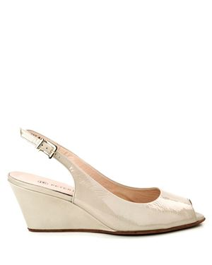 Peter Kaiser Alizee Patent slingback wedge Lana Was: £125.00 Now: £49.00