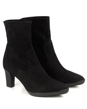 Peter Kaiser Belana Stretch Suede Ankle Boot Black Was: £199.00 Now: £149.00