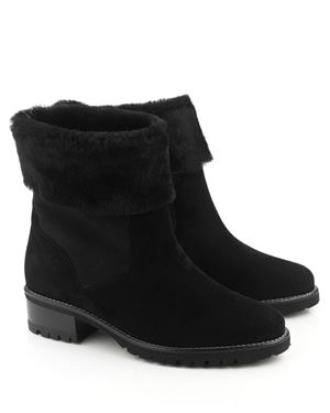 Peter Kaiser Bens sheepskin boot Black Was: £229.00 Now: £100.00