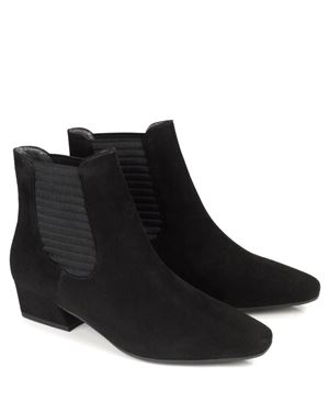 Peter Kaiser Desira Gusset Ankle Boots Black Was: £159.00 Now: £119.00