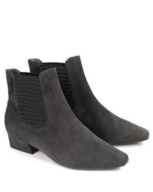 Peter Kaiser Desira Gusset Ankle Boots Carbon £159.00