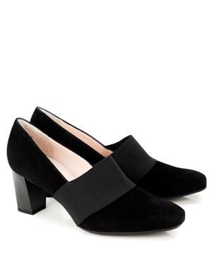 Peter Kaiser Dorna Suede Court Shoe Black Was: £125.00 Now: £69.00