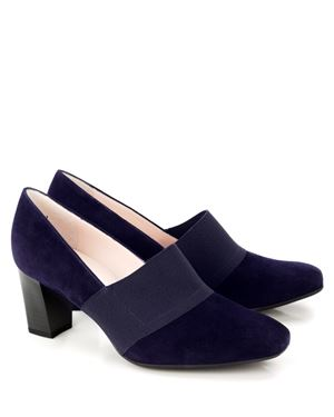 Peter Kaiser Dorna Suede Court Shoe Navy Was: £125.00 Now: £69.00