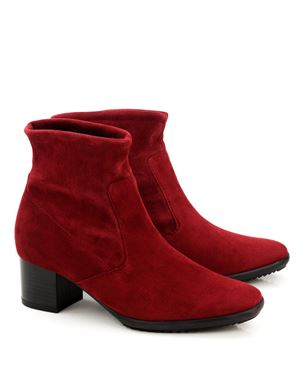 Peter Kaiser Gena stretch suede ankle boot Ruby Was: £170.00 Now: £85.00