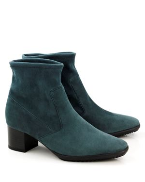 Peter Kaiser Gena stretch suede ankle boot Verde Was: £170.00 Now: £85.00