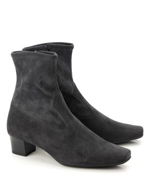 Peter Kaiser Gene Stretch Suede Ankle Boot Carbon Was: £159.00 Now: £119.00