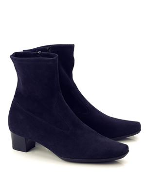 Peter Kaiser Gene stretch suede ankle boot Navy Was: £170.00 Now: £140.00