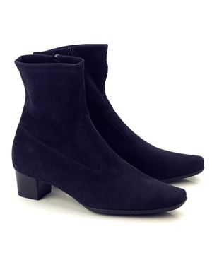 Peter Kaiser Gene Stretch Suede Ankle Boot Navy Was: £159.00 Now: £119.00