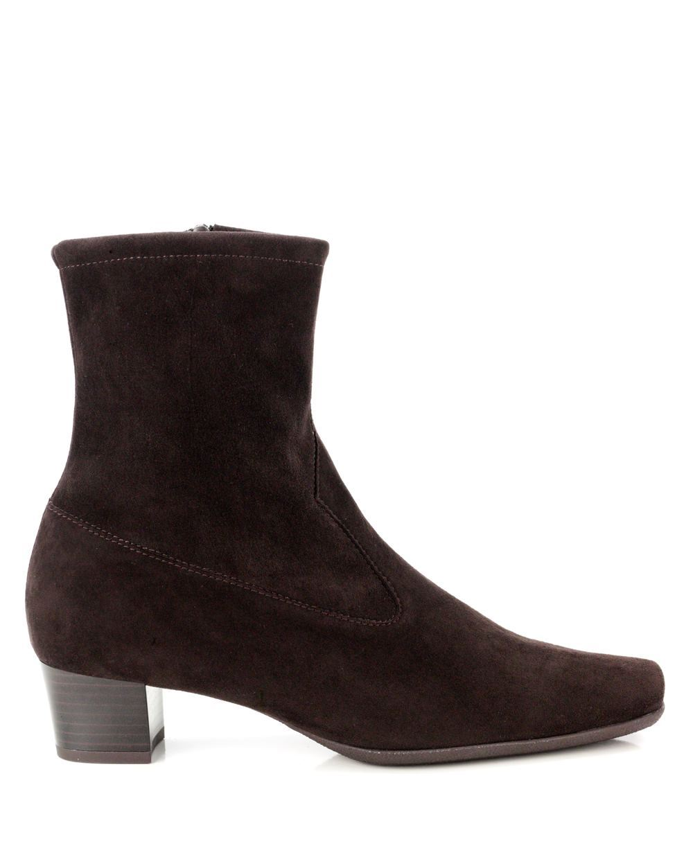 kaiser gene stretch suede ankle boot nuba shoe room