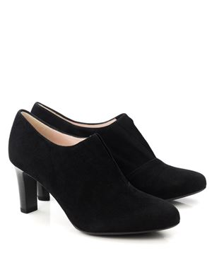 Peter Kaiser Hanara suede shoe with front gusset Black Was: £125.00 Now: £89.00