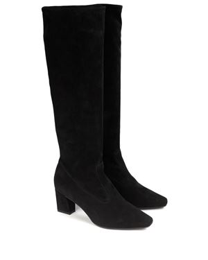 Peter Kaiser Kilara Stretch Suede Boots Black Was: £235.00 Now: £176.00