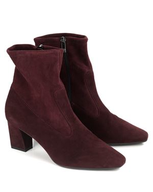 Peter Kaiser Konsa Stretch Suede Ankle Boot Cabernet £175.00