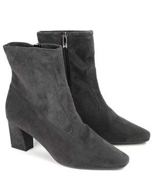 Peter Kaiser Konsa Stretch Suede Ankle Boot Carbon £175.00
