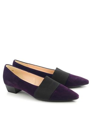 Peter Kaiser Lagos suede pump Grape Was: £115.00 Now: £80.50