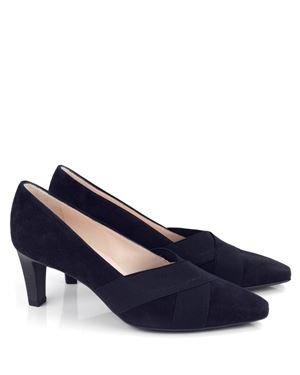 Peter Kaiser Malana Suede Court Shoes Navy £123.50