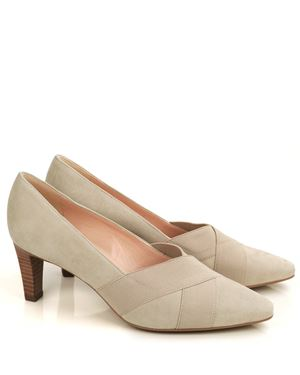 Peter Kaiser Malana Suede Court Shoes Sand £123.50
