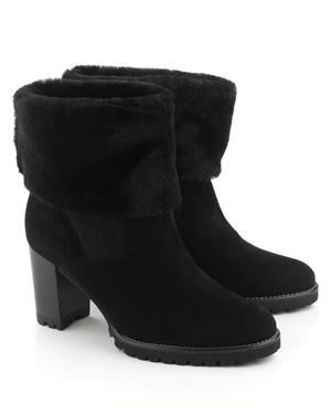 Peter Kaiser Opavia sheepskin lined boot Black Was: £235.00 Now: £117.50