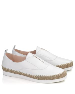 Peter Kaiser Peter Kaiser Anamarie Samoa leather pump White Was: £125.00 Now: £81.00