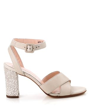 Peter Kaiser Peter Kaiser Sandals - Hydra Foulard Leather Sand Was: £139.00 Now: £59.00