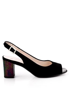 Peter Kaiser Peter Kaiser Slingbacks - Kasey Suede Black Was: £125.00 Now: £59.00