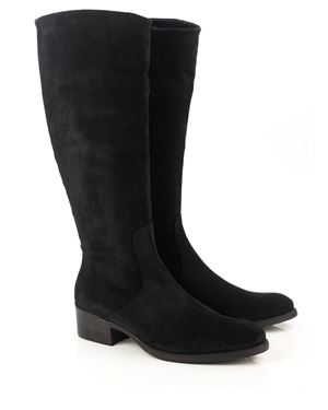 Toni Pons Tirol Suede Riding Boot Black Was: £135.00 Now: £79.00