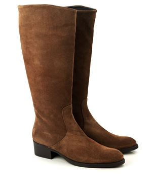 Toni Pons Tirol Suede Riding Boot Tobacco Was: £135.00 Now: £79.00