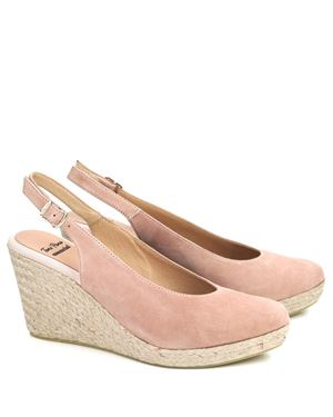 Toni Pons Toni Pons BCN suede slingback espadrille Nude Was: £89.00 Now: £71.00