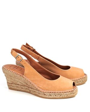 Toni Pons Toni Pons Croacia leather espadrille Tan £70.00