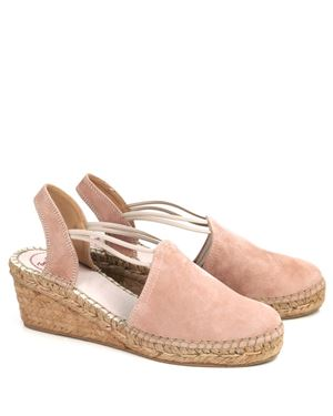 Toni Pons Toni Pons Tremp suede wedge espadrilles Nude £60.00