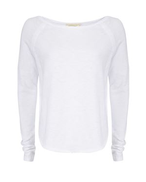 American Vintage Sonoma Long Sleeve T-Shirt white £59.00