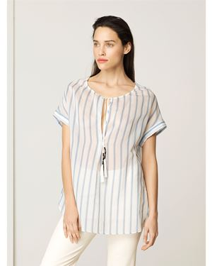 By Malene Birger Caroly shirt Blue Was: £190.00 Now: £95.00