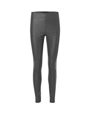 By Malene Birger Elenasoo Leather Trouser charcoal £650.00