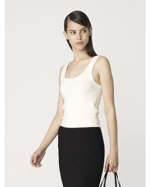 By Malene Birger Newdawn tank top Cream £45.00