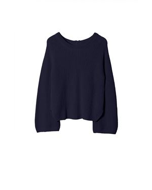 Hunkydory Virginia Knit Navy Was: £150.00 Now: £75.00