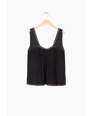 Masscob Mascob Andros Top Black Was: £180.00 Now: £40.00