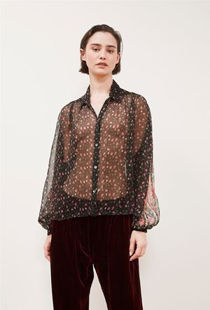 Mes Demoiselles Darcy Blouse Floral Was: £129.00 Now: £90.30