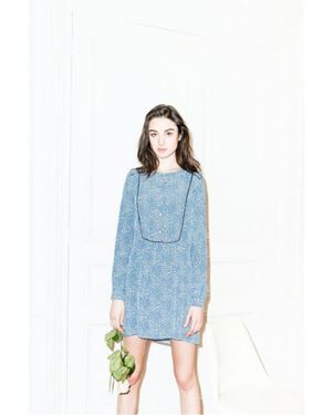 New Lily Boston shirt dress Blue Was: £119.00 Now: £83.30